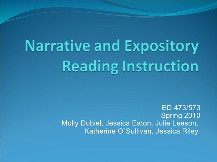 Writing A Narrative Essay Powerpoint