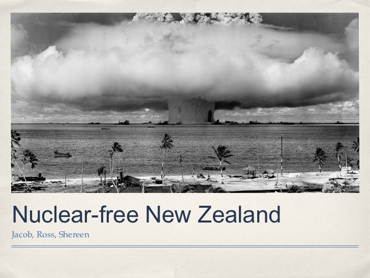 Nuclear-free New ZealandJacob, Ross, Shereen