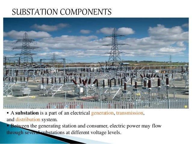 The Substation  ponents Study on power converter step up