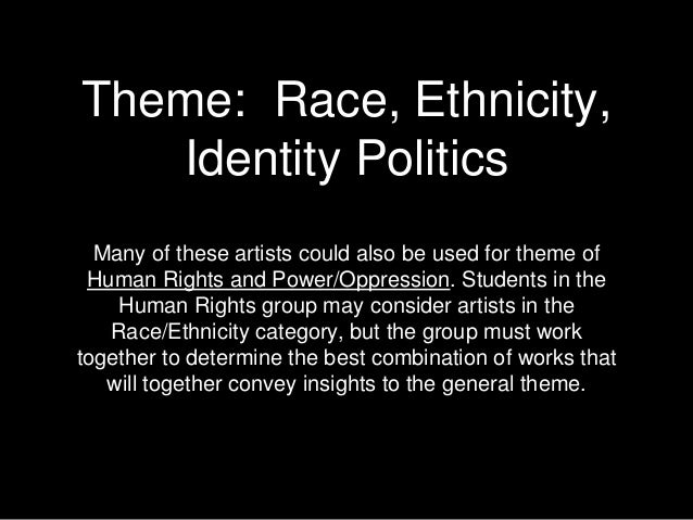 What does technology erode racial,political, and ethnic difference mean?