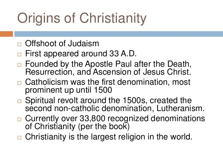christianity report Arianism: arianism, in christianity, the christological (concerning the doctrine of christ) position that jesus, as the son of god, was created by god it was.