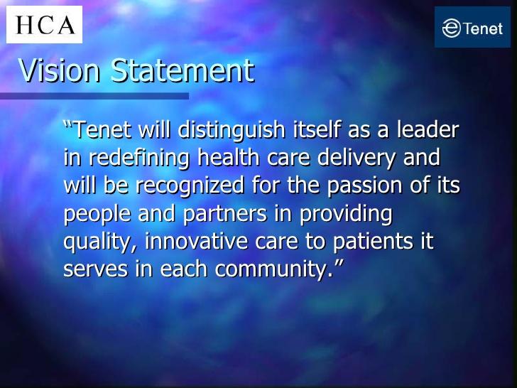 statement vision hospital