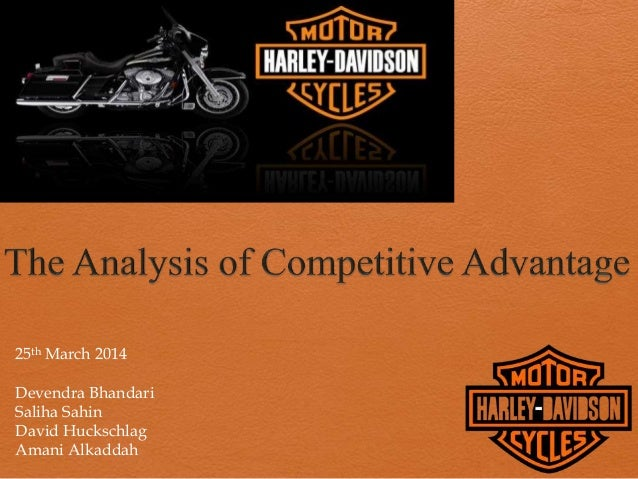 harley davidson case study analysis Swot analysis of harley davidson presents the various as in case of increase in input cost will lead to increase in operational cost which in course will.