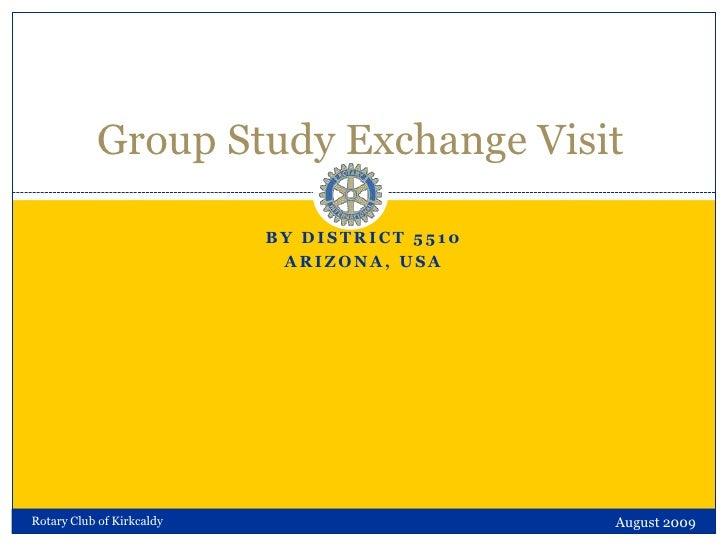 Group Study Exchange Visit