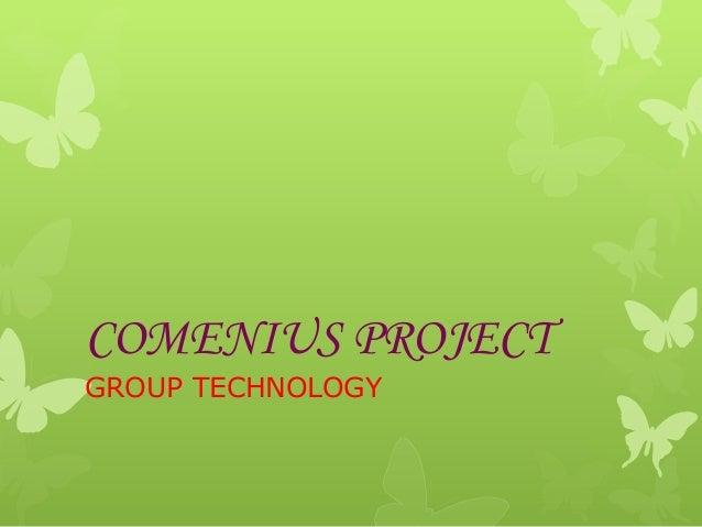 COMENIUS PROJECT GROUP TECHNOLOGY