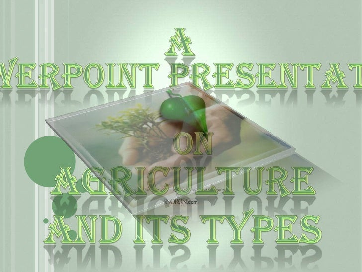 Agricultre