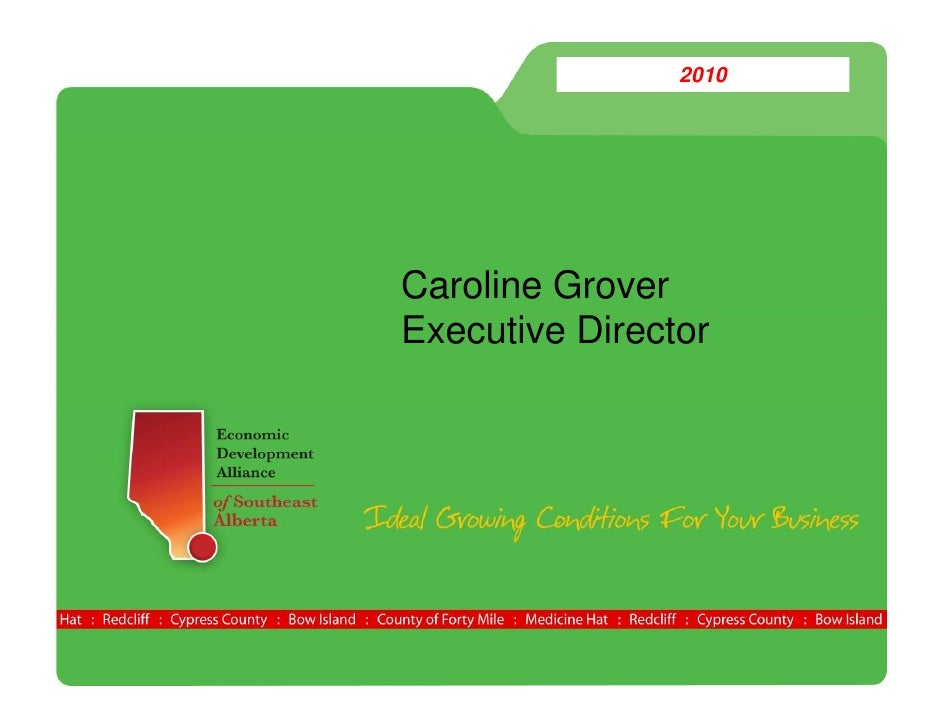 2010     Caroline Grover Executive Di t E     ti Director