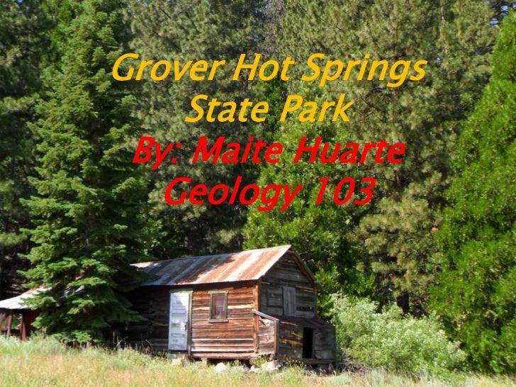 Grover Hot Springs July 2011