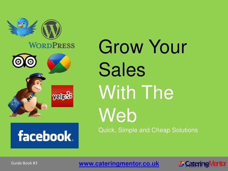 Grow Your                Sales                With The                Web                Quick, Simple and Cheap Solutions...