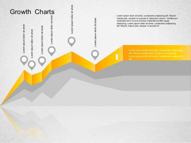 Grow Area Charts Concept for PowerPoint by PoweredTemplate.com