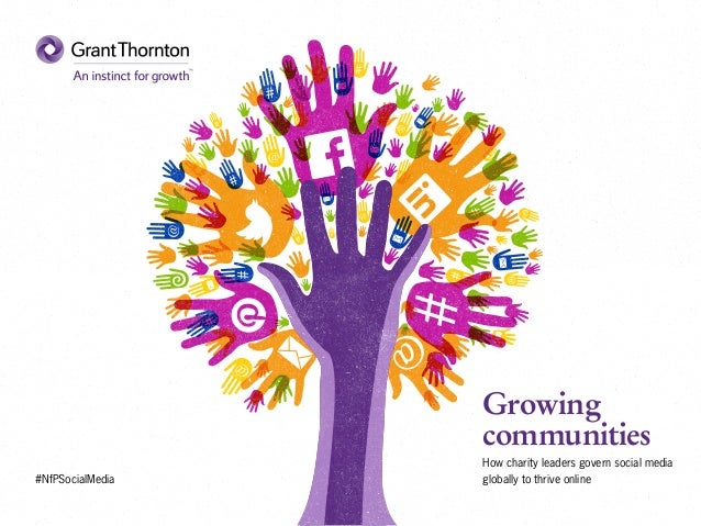 Growing communities: How charity leaders govern social media globally to thrive online