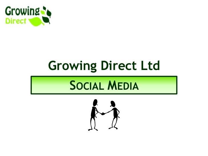 Growing Direct Ltd & Social Media