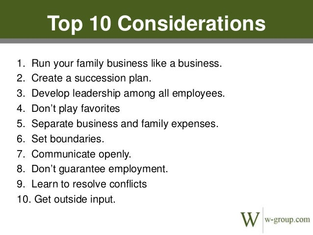 """family run business wyncraft essay The five attributes of enduring family decades,"""" said the ceo of a family business should be occupied by outside ceos who run businesses at least."""