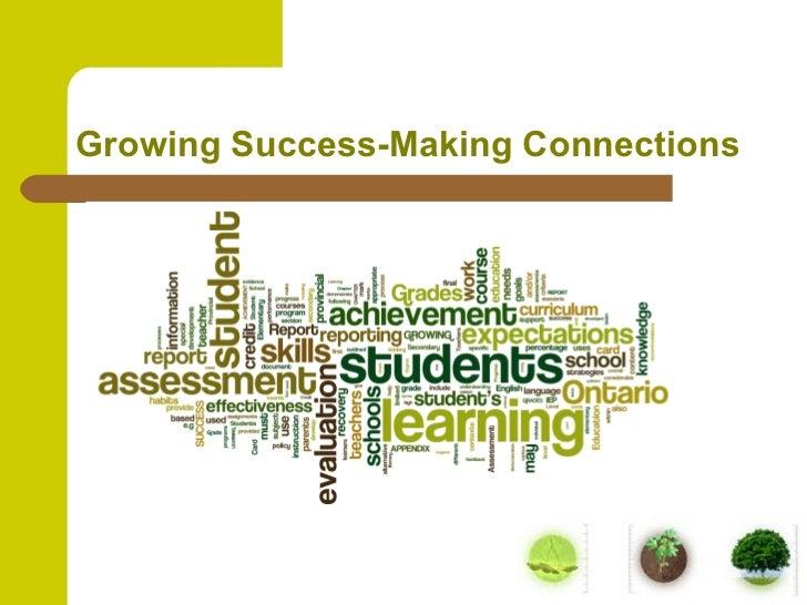 Growing success opps oct 6
