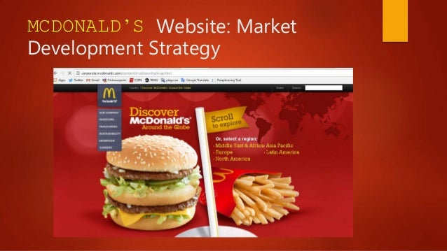 mcdonalds and tesco growth strategies Mcdonald's generic strategy (porter's model) and intensive growth strategies are discussed in this case study and analysis on business strategic objectives skip to content panmore institute.