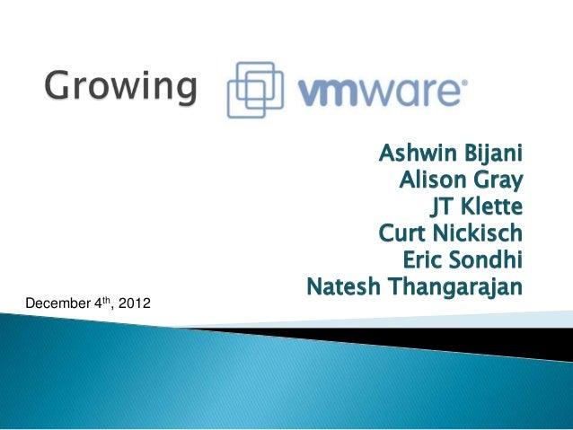 Growing vmware