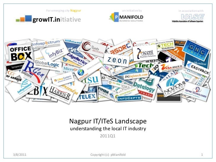 GrowIT.in Nagpur IT Landscape Report 2011Q1