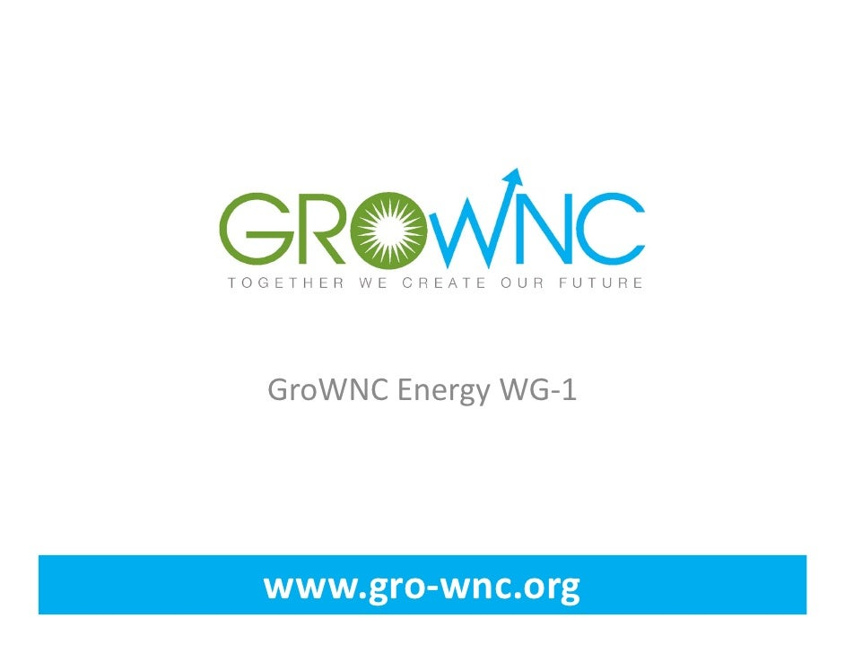 Gro wnc energy workgroup meeting   march 2012