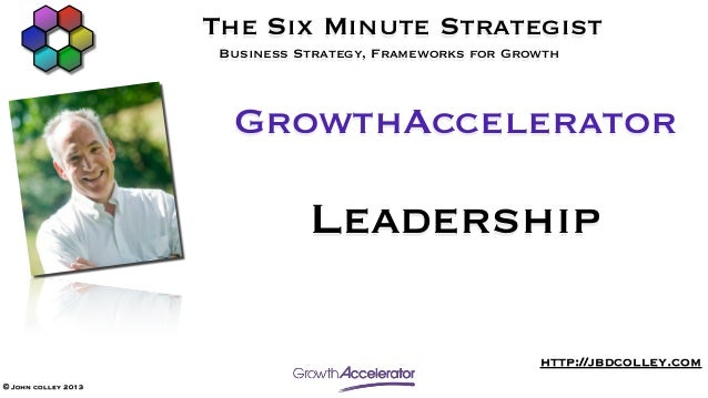 GrowthAccelerator Leadership