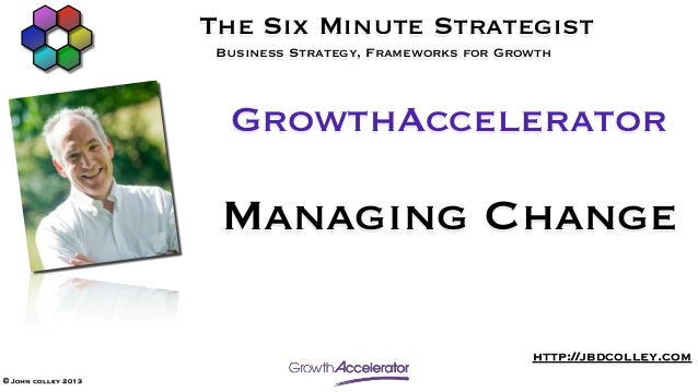 GrowthAccelerator Managing Change