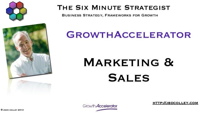 GrowthAccelerator Marketing and Sales