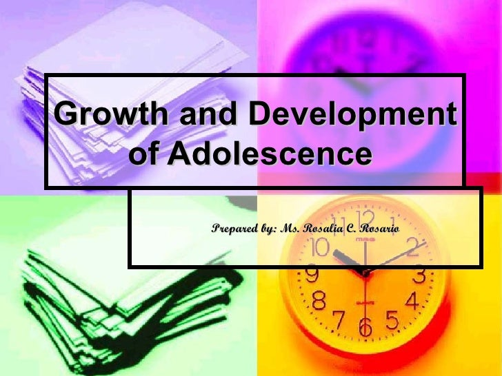 Growth and development of adolescence lesson2