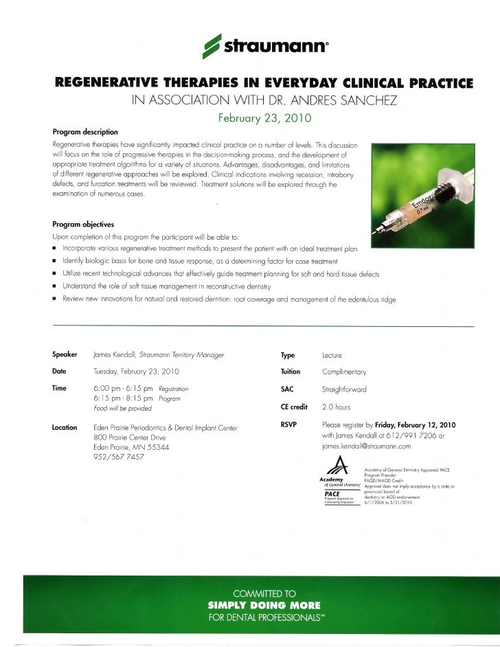 Growth Factor Lecture Invite For Doctors
