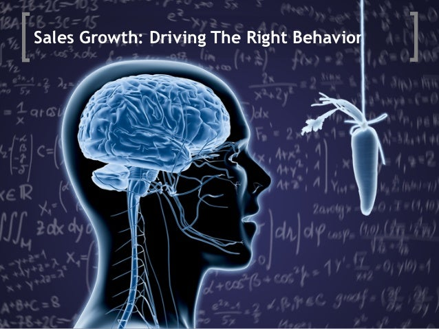 Sales Growth: Driving The Right Behavior