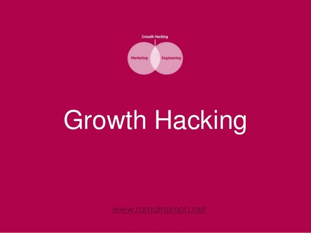 Growth Hacking  www.romainsimon.net