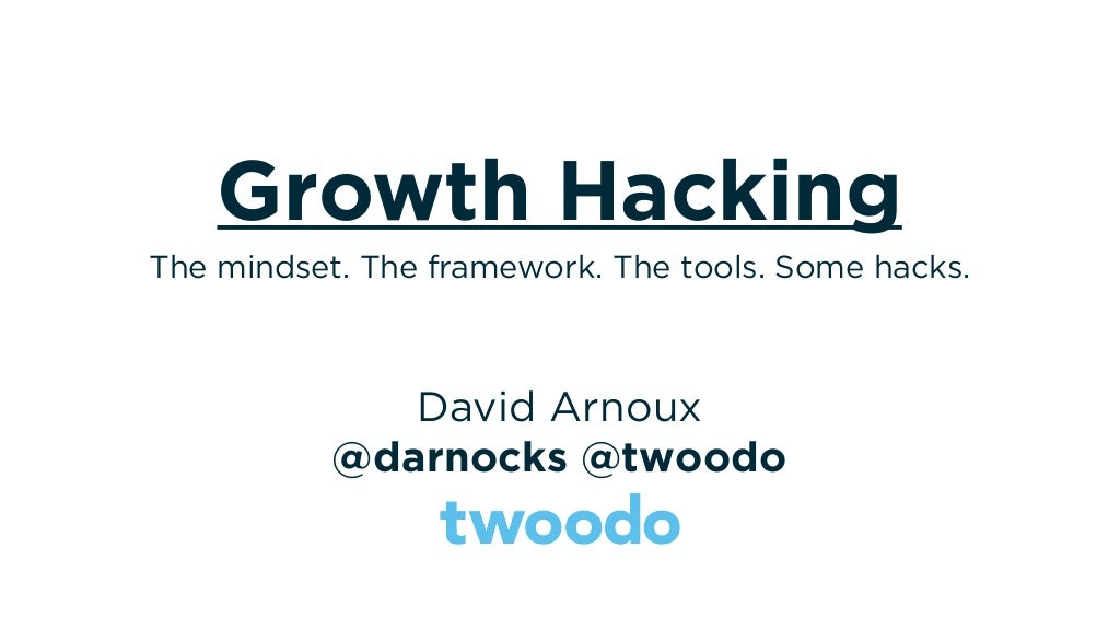 Growth Hacking - Magazine cover