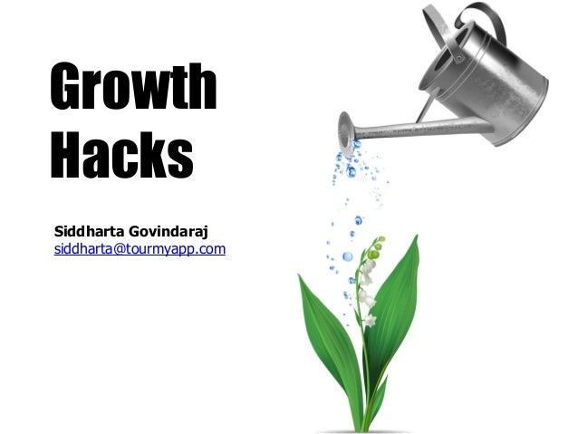 GrowthHacksSiddharta Govindarajsiddharta@tourmyapp.com