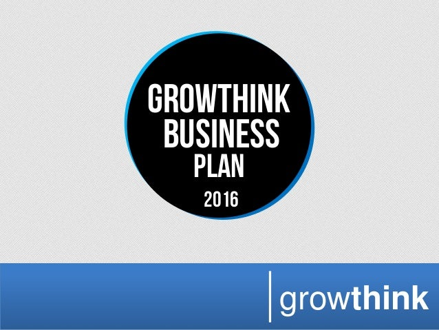 Growthink business plan