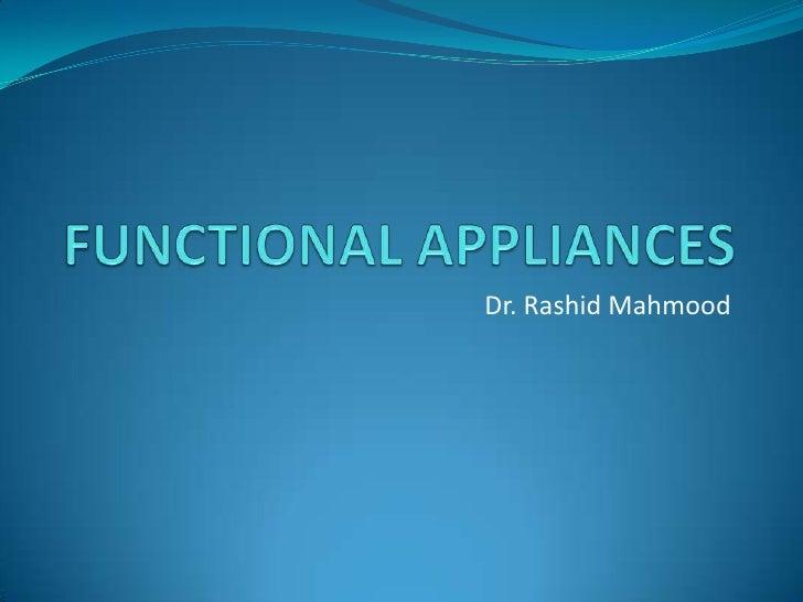 Dr. Rashid Mahmood