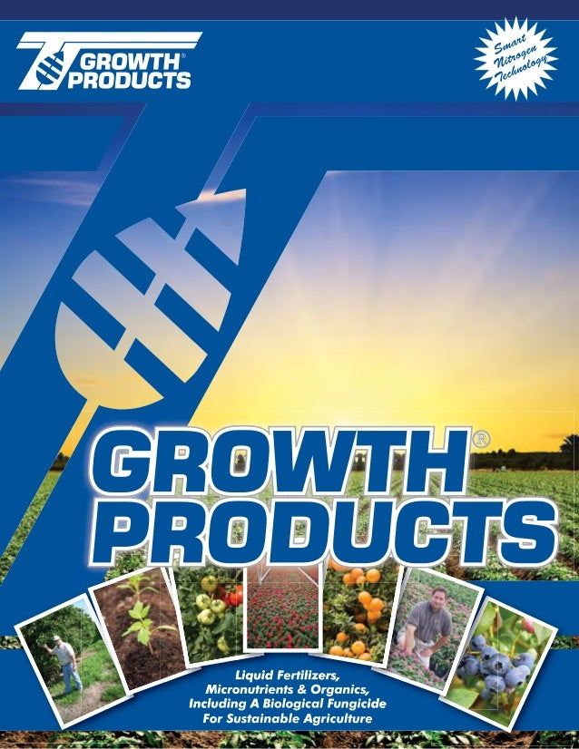 Growth productscatalogo2011