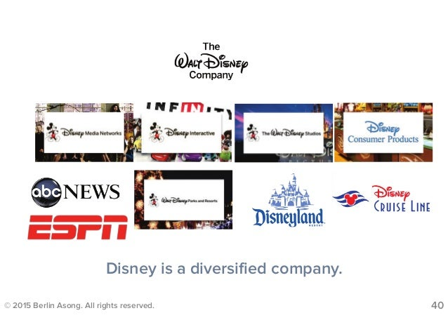 related vs unrelated diversification walt disney Read this essay on at & t and diversification walt disney and at and t have had related and unrelated related diversification is the process of.