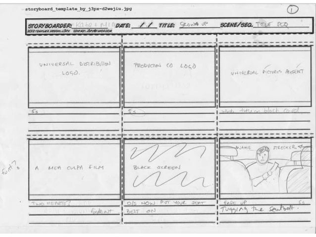Grow up Storyboard