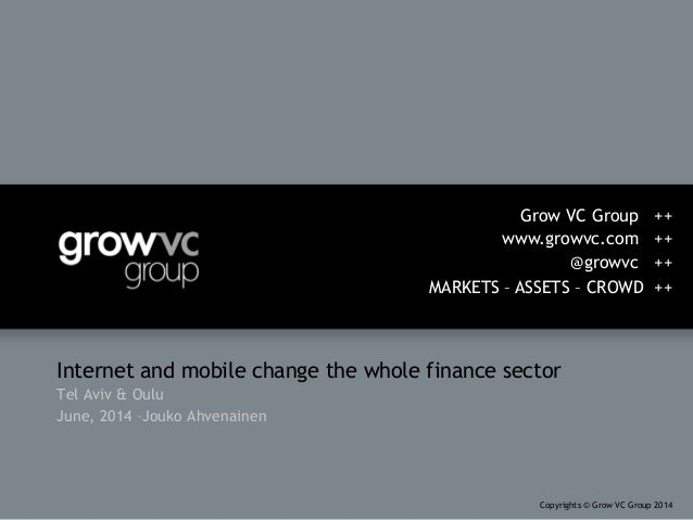 Grow VC Group presentations in Tel Aviv and Oulu