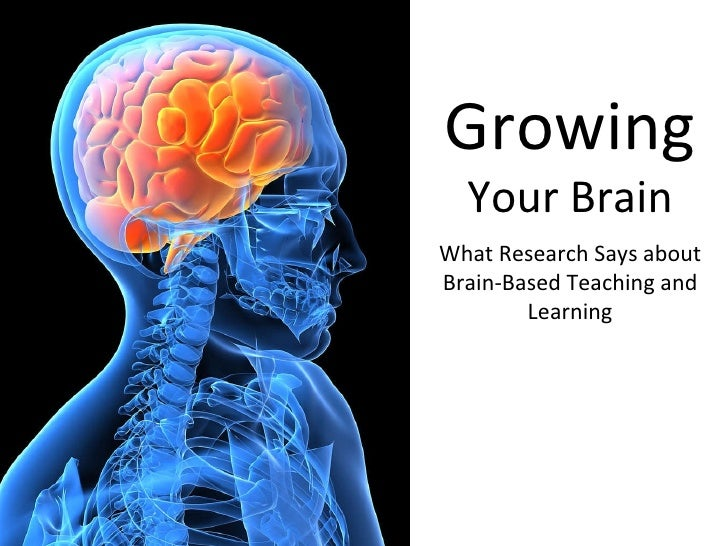 Growing  Your Brain What Research Says about Brain-Based Teaching and Learning