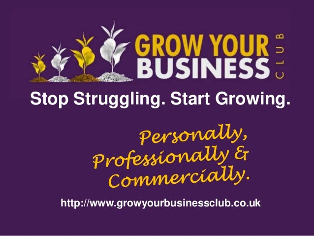 Grow Your Business With The Grow Your Business Club