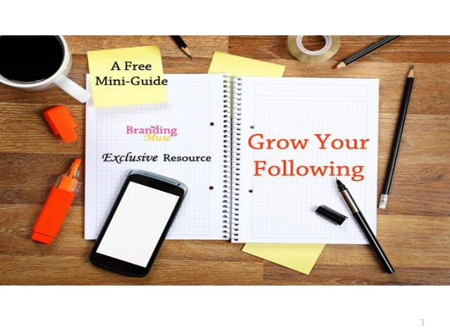 Grow your Brand's Following Mini-Guide
