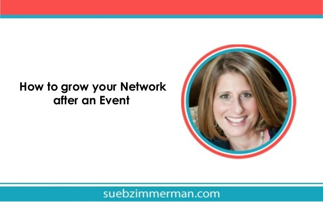 How to grow your Network after an Event
