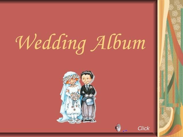 Wedding Album            Click