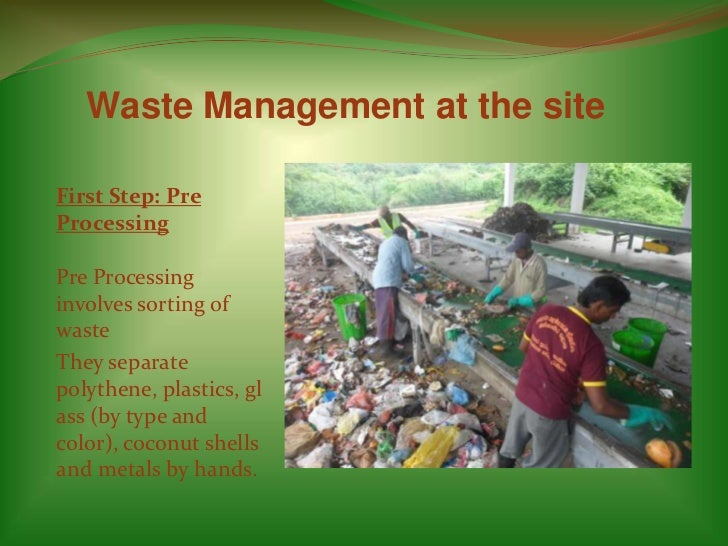 solid waste management thesis The sweet sugar incorporated shall apply for loans which will give the maximum output thesis proposal on solid waste management the plant martin luther king was a.