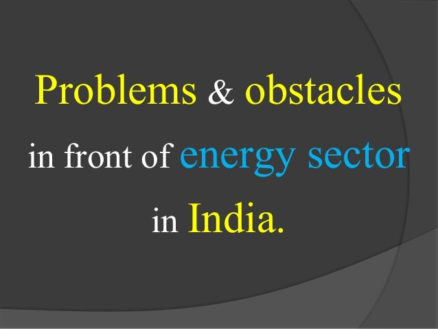 report on power sector