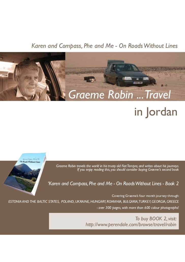 Karen and Compass, Phe and Me - On Roads Without Lines                                    Graeme Robin ...Travel          ...