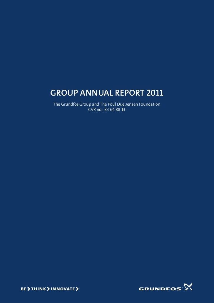Grundfos Annual Report 2011