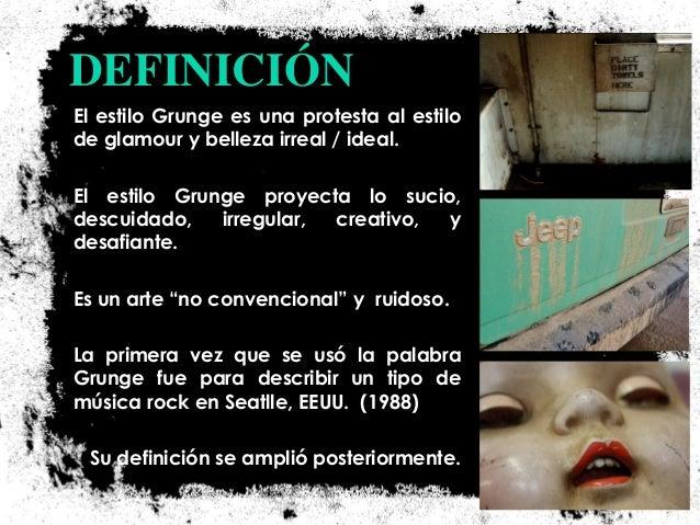 El grunge sucio tratamiento de im genes - Definicion de glamour ...