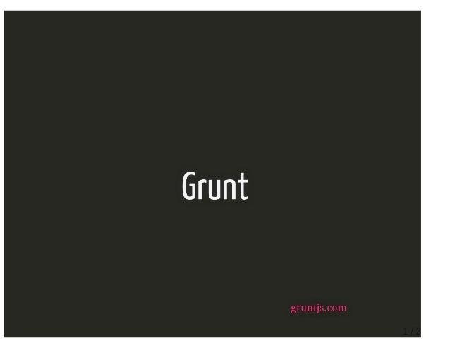 Grunt pres