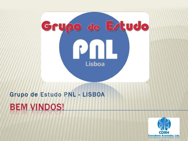 Grupo de Estudo PNL - LISBOA