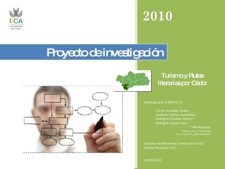 Proyecto de Investigación (PowerPoint)